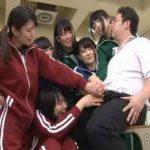【集団痴女】女子校生たちが男子を集団いじめ。射精に興奮してもう一回!【連続射精】