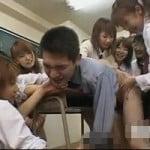 【前立腺責め】教え子たちに寄ってたかって前立腺をほじくり返されてガクガク痙攣イキ【女子校生】