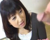 【センズリ鑑賞】46歳専業主婦 年齢の割りに可愛い素人妻のセンズリ鑑賞