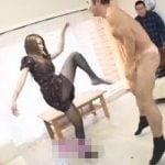 【金蹴り】美女金蹴り しなやかな高速キックが金玉に連続クリーンヒット!