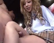 組みシコシコ、指舐めシコシコ、女子校生の脚コキ48手