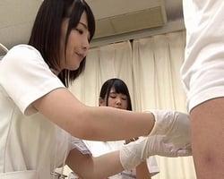 【手袋手コキ】暴発に悩む男性がこぞって通う早漏治療専門クリニックのお仕事