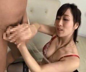 ママの性教育手コキ 川上ゆう
